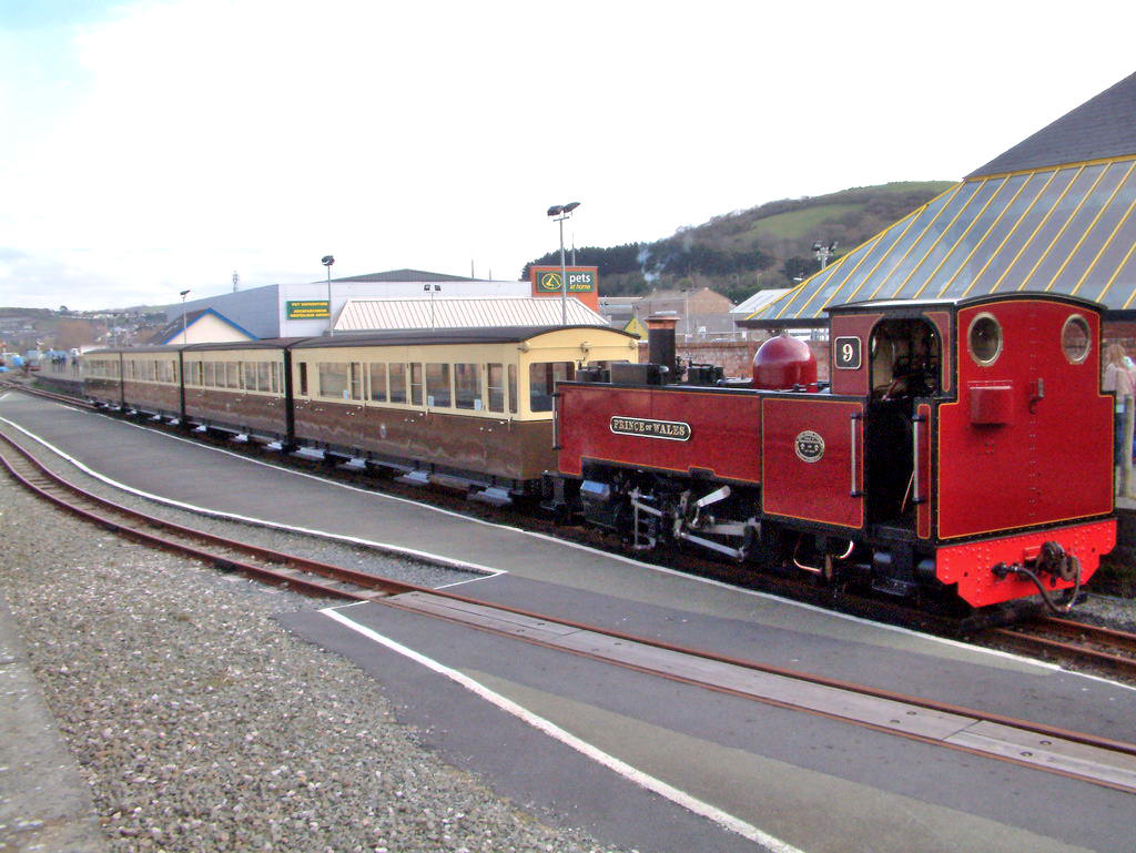 Vale of Rheidol Railway Mid-Wales, Rhayader railway station was a station serving the town of ...