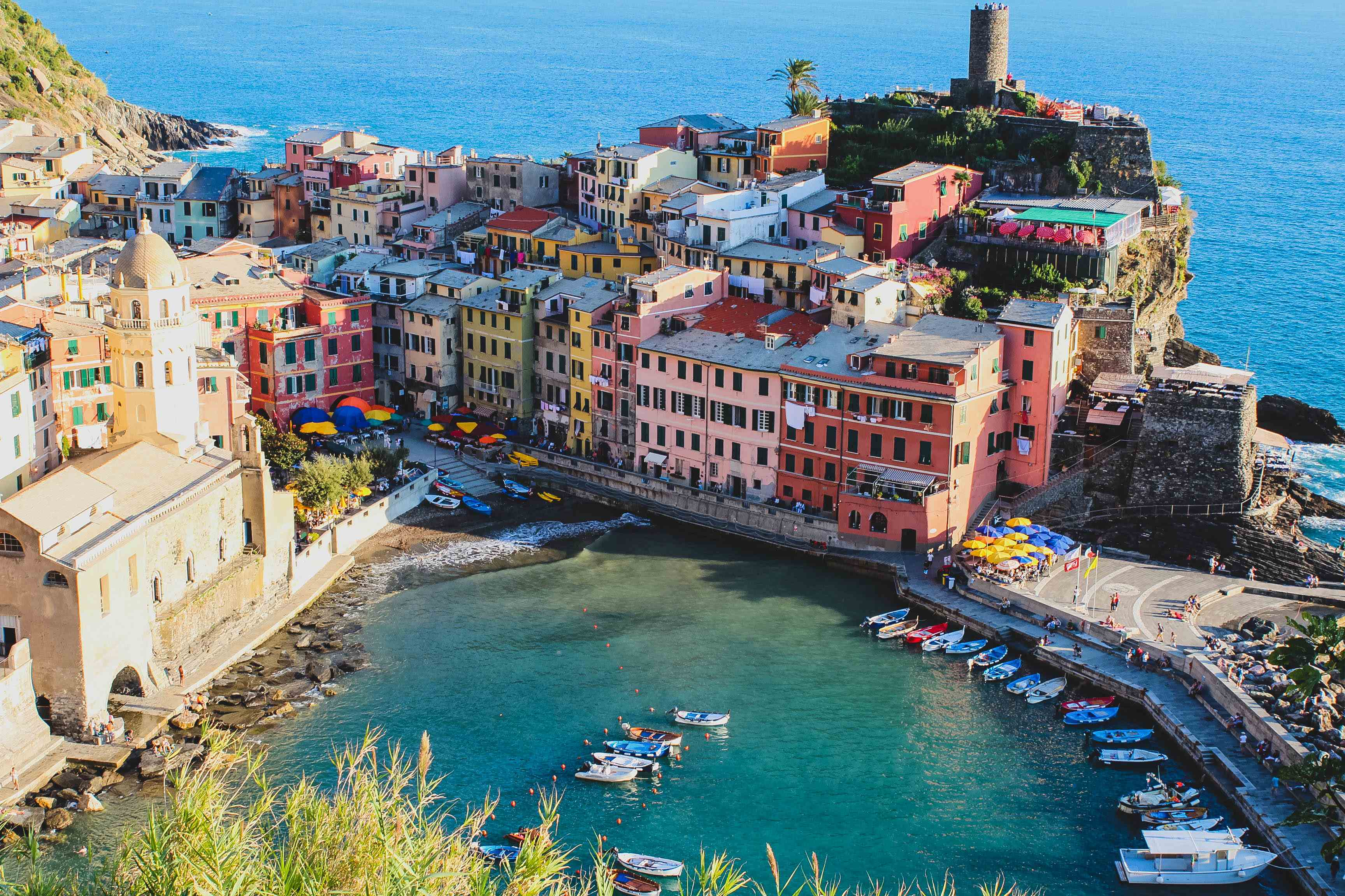 Vernazza Cinque Terre, Vernazza, Italy (Cinque Terre) - Barefoot Blonde by Amber Fillerup ...