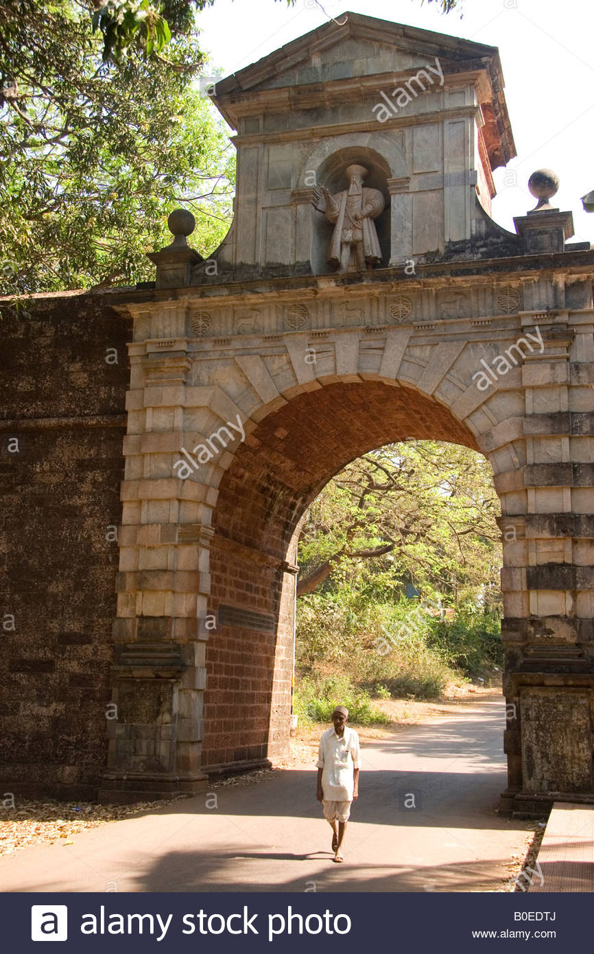 Viceroy's Arch Old Goa, The Viceroy's Arch in Old Goa, India Stock Photo, Royalty Free ...