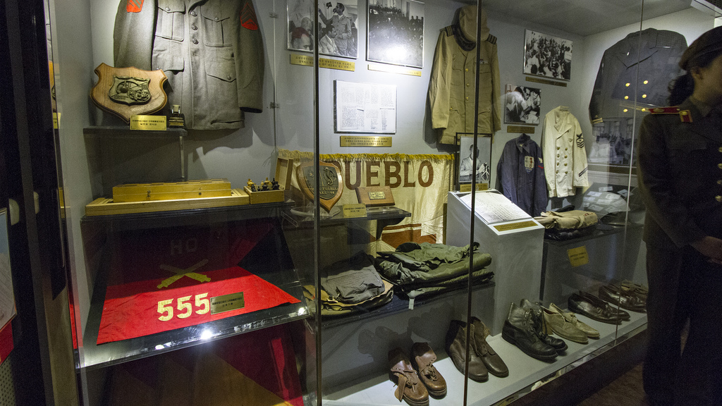 Victorious Fatherland Liberation War Museum Pyongyang, The USS Pueblo is now the main attraction at North Korea's ...