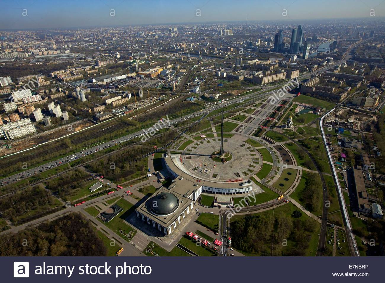 Victory Park Moscow, Russia, Moscow. Victory Park on Poklonnaya Gora (Hill Stock Photo ...