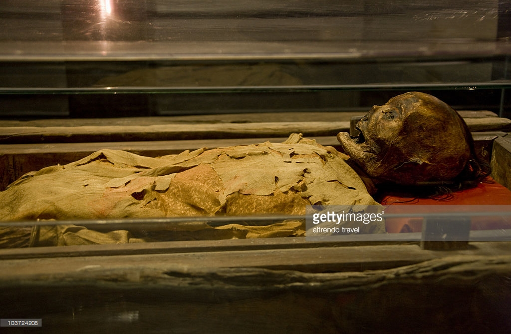 Vietnam National History Museum Ho Chi Minh City, Embalmed Womans Body From 1869 At National Historical Museum Ho ...