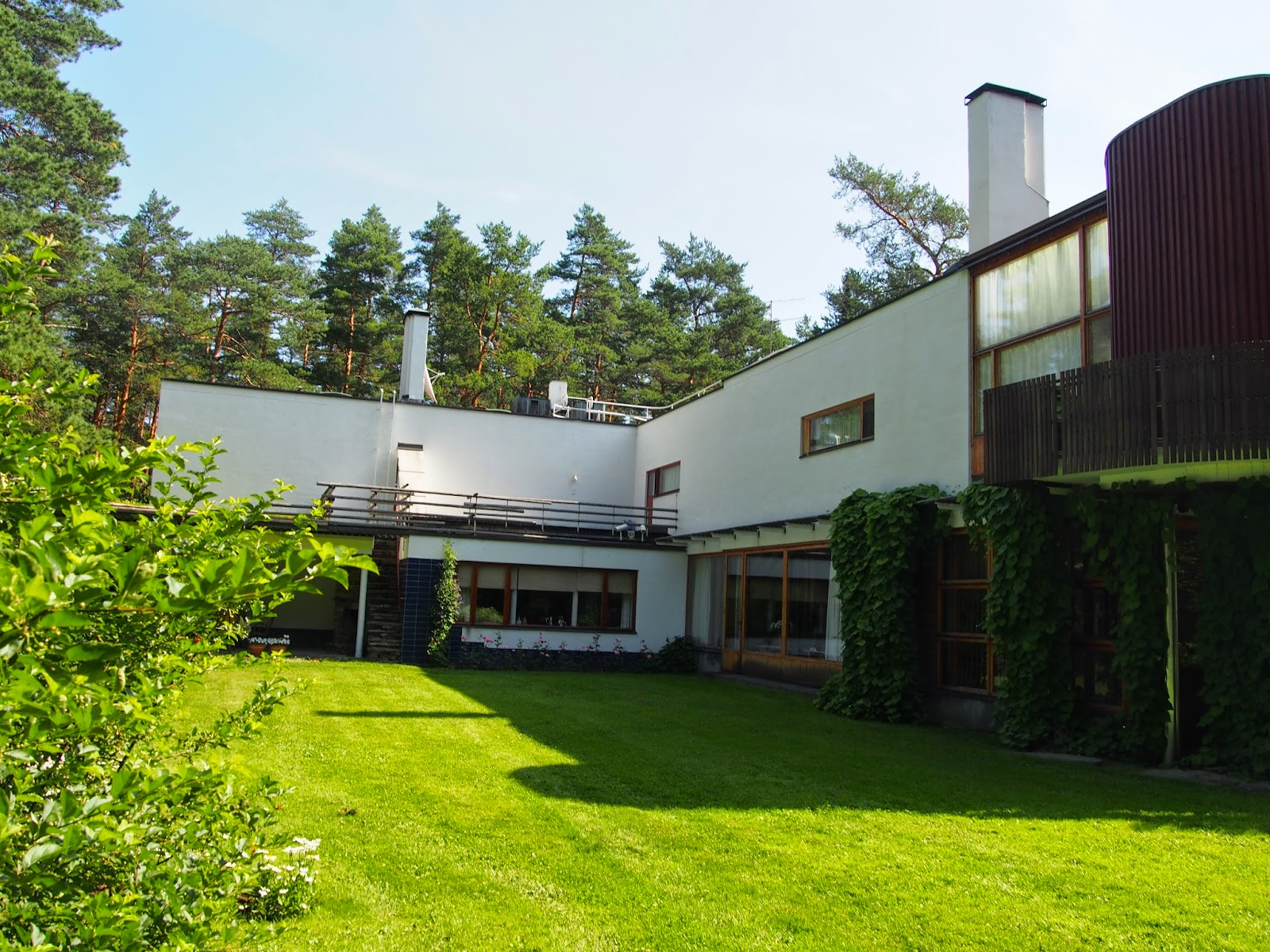 Villa Mairea Pori, The Intercontinental Gardener: Notes from Alvar Aalto's Villa ...