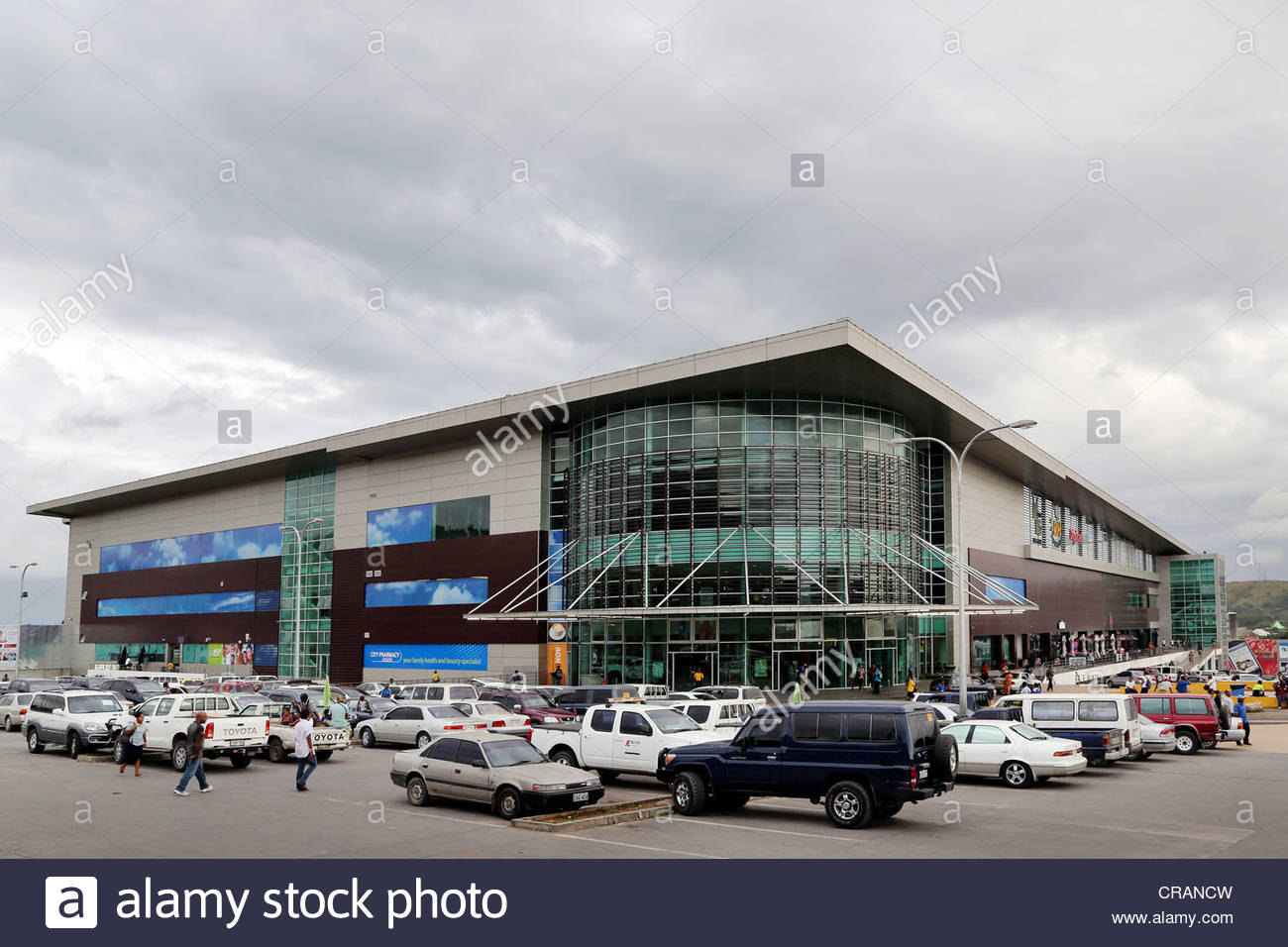 Vision City Port Moresby, shopping mall Vision City in Port Moresby, Papua New Guinea Stock ...