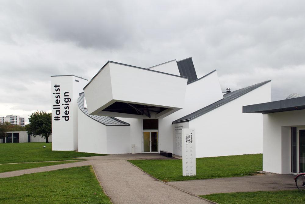 Vitra Design Museum Basel, Images of the Vitra Design Museum, Vitra Campus, by Frank Gehry