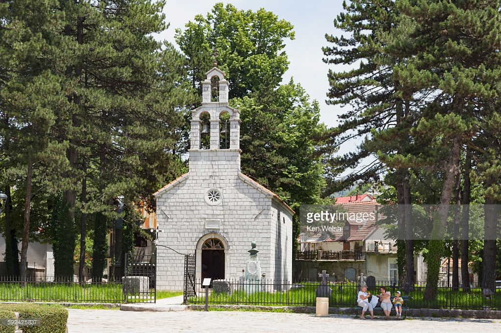 Vlach Church Cetinje, Cetinje Montenegro Stock Photo | Getty Images