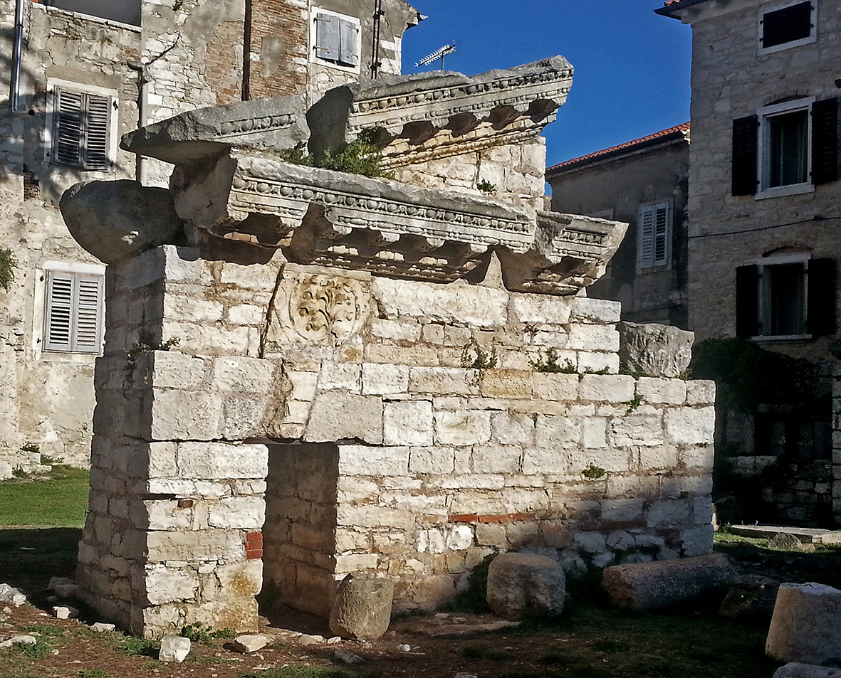 Vrsar Istria, The Temple of Neptune - Istria Culture