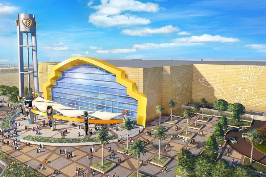Warner Bros World Abu Dhabi, Warner Bros. Will Open Abu Dhabi Theme Park in 2018