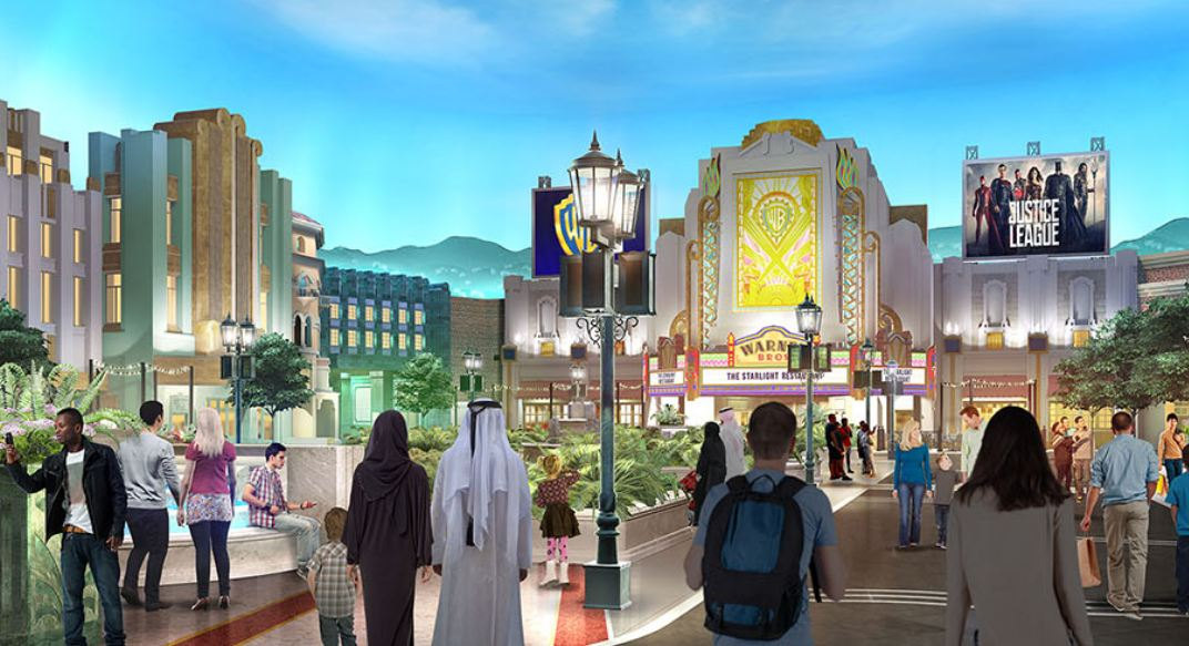 Warner Bros World Abu Dhabi, Revealed: first look of Warner Bros theme park in Abu Dhabi ...