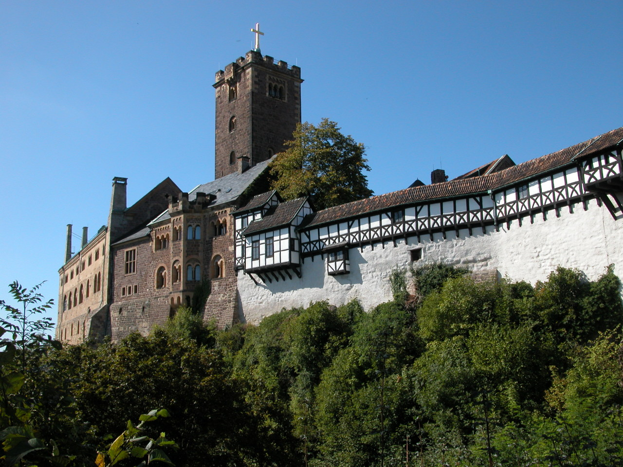 Wartburg Castle Saxony, Saxony-Anhalt and Thuringia, Flammentanz • Landscapes and landmarks from all German Federal...