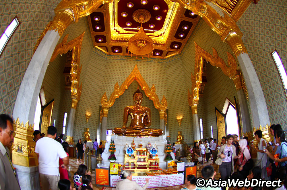 Wat Traimit Bangkok, Wat Traimit in Bangkok - Temple of Golden Buddha