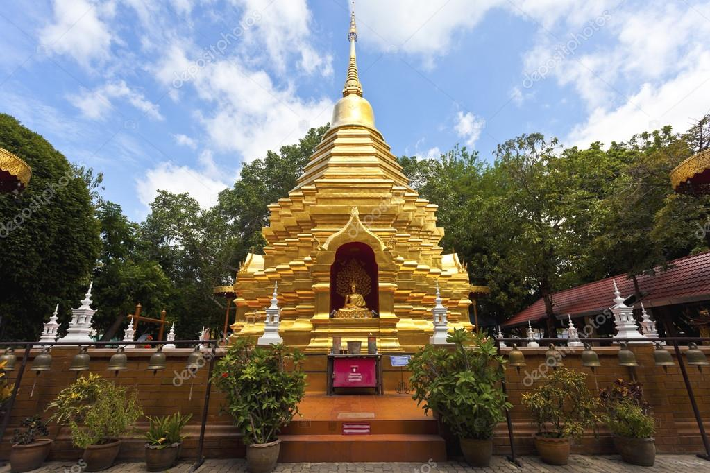 Wat Phan On Chiang Mai, Wat Phan On temple in Chiang Mai, Thailand. — Stock Photo ...