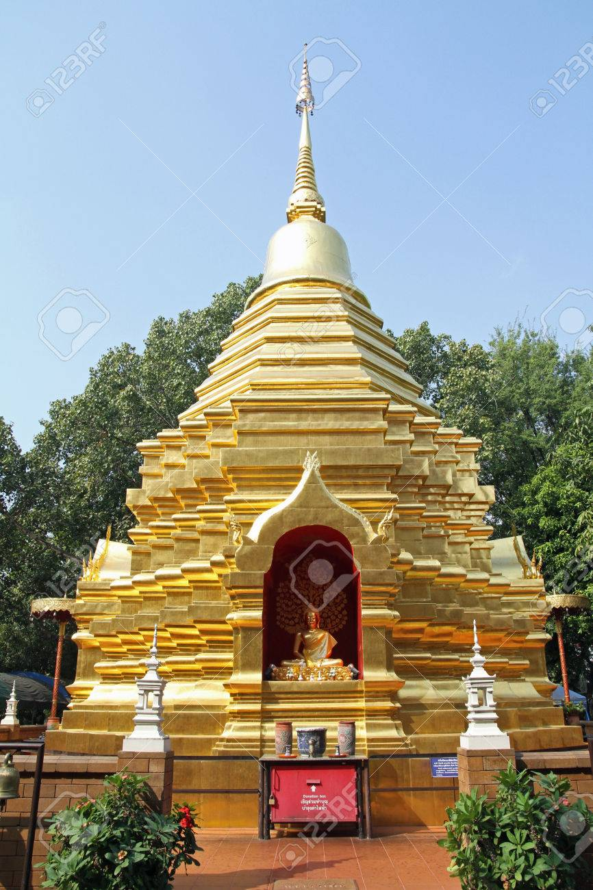 Wat Phan On Chiang Mai, Wat Phan On In Chiang Mai, Thailand Stock Photo, Picture And ...