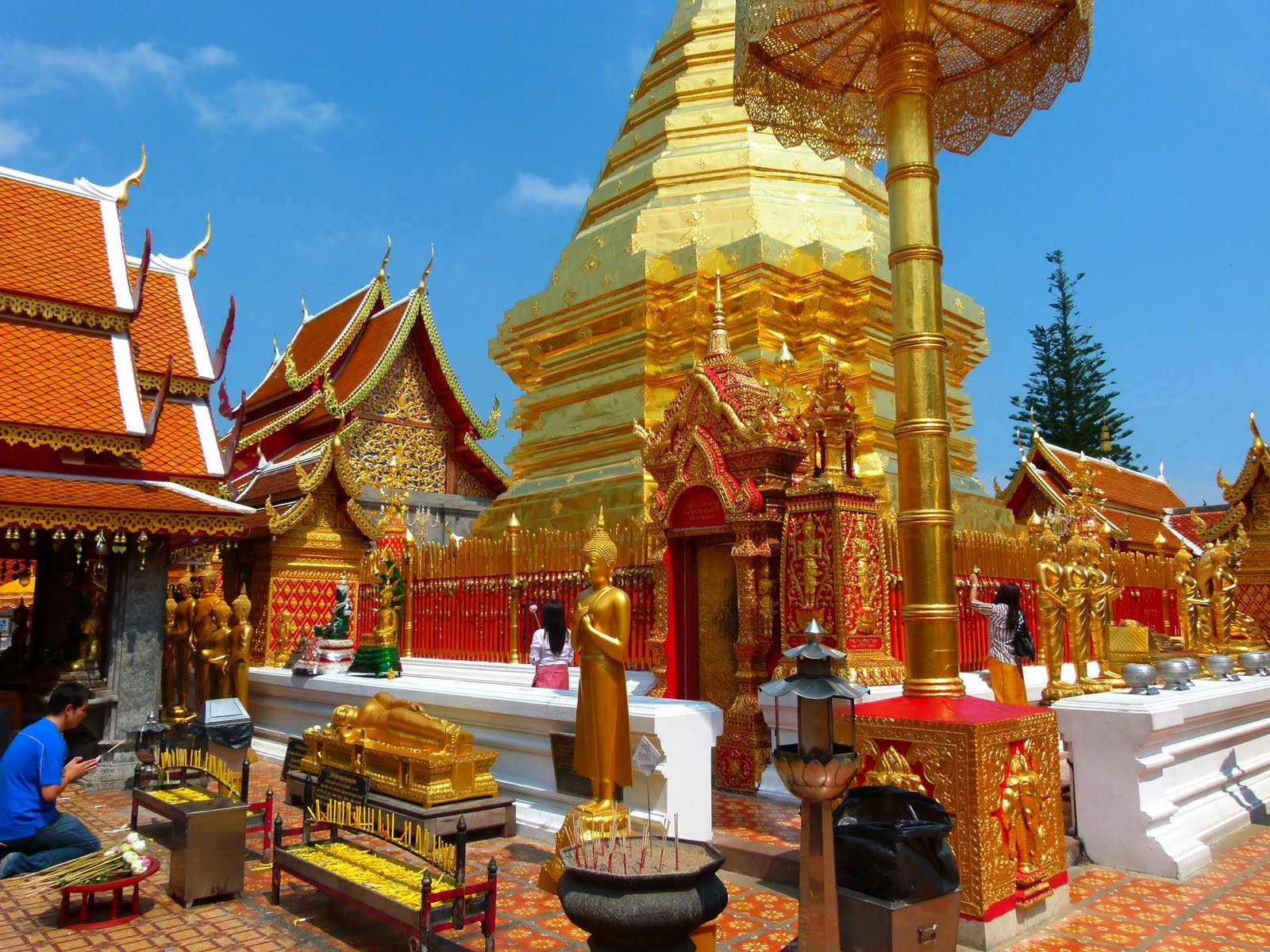 Wat Phra Jao Mengrai Chiang Mai, Chiang Mai: Tourist Attractions, Things to Do, Rafting, Nightlife ...