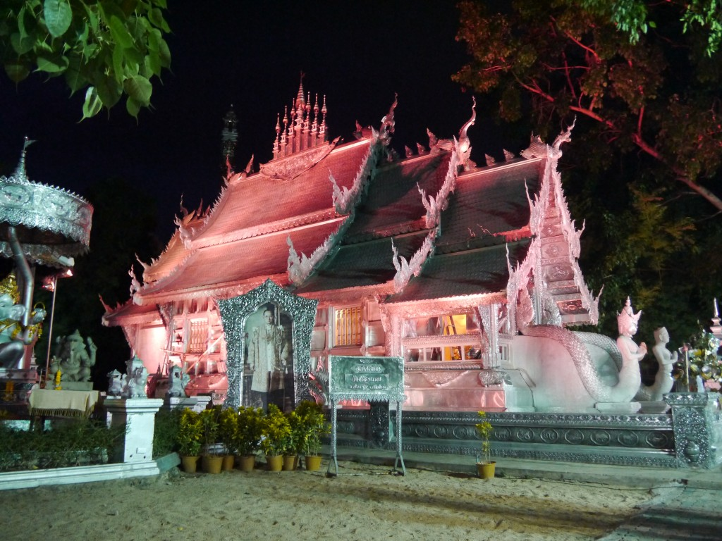 Wat Srisuphan Chiang Mai, Amazing Multicolored Temple In Chiang Mai - Renegade Travels
