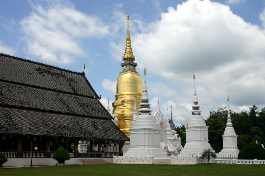 Wat Suan Dok Chiang Mai, Wat Suan Dok, Chiang Mai - Thailand For Visitors