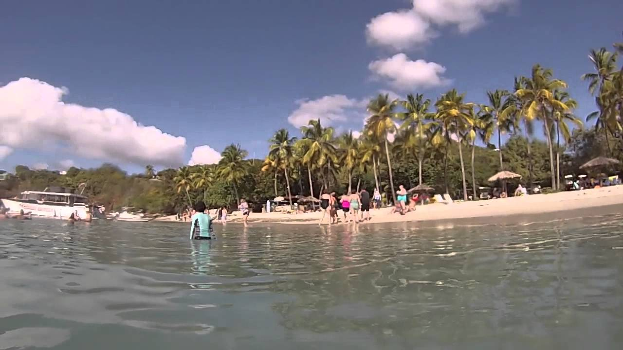 Water Island Charlotte Amalie & Around, Water Island, St. Thomas, USVI - Swimming at Water Island HD (2015 ...