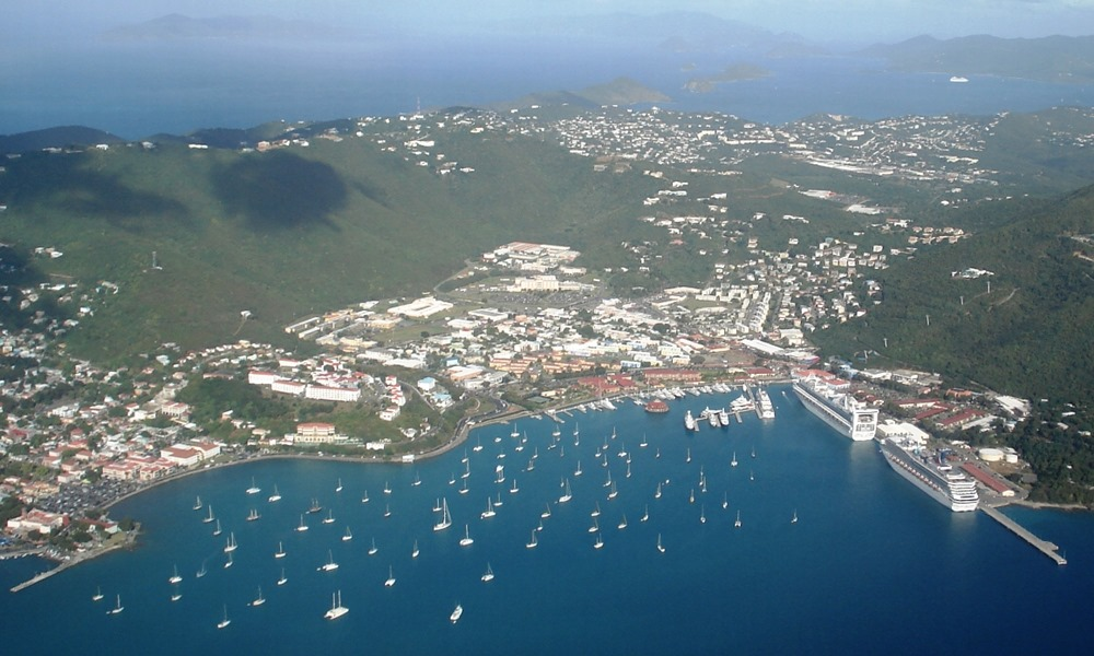 Water Island Charlotte Amalie & Around, Saint Thomas Island (Charlotte Amalie, USVI) cruise ship schedule ...