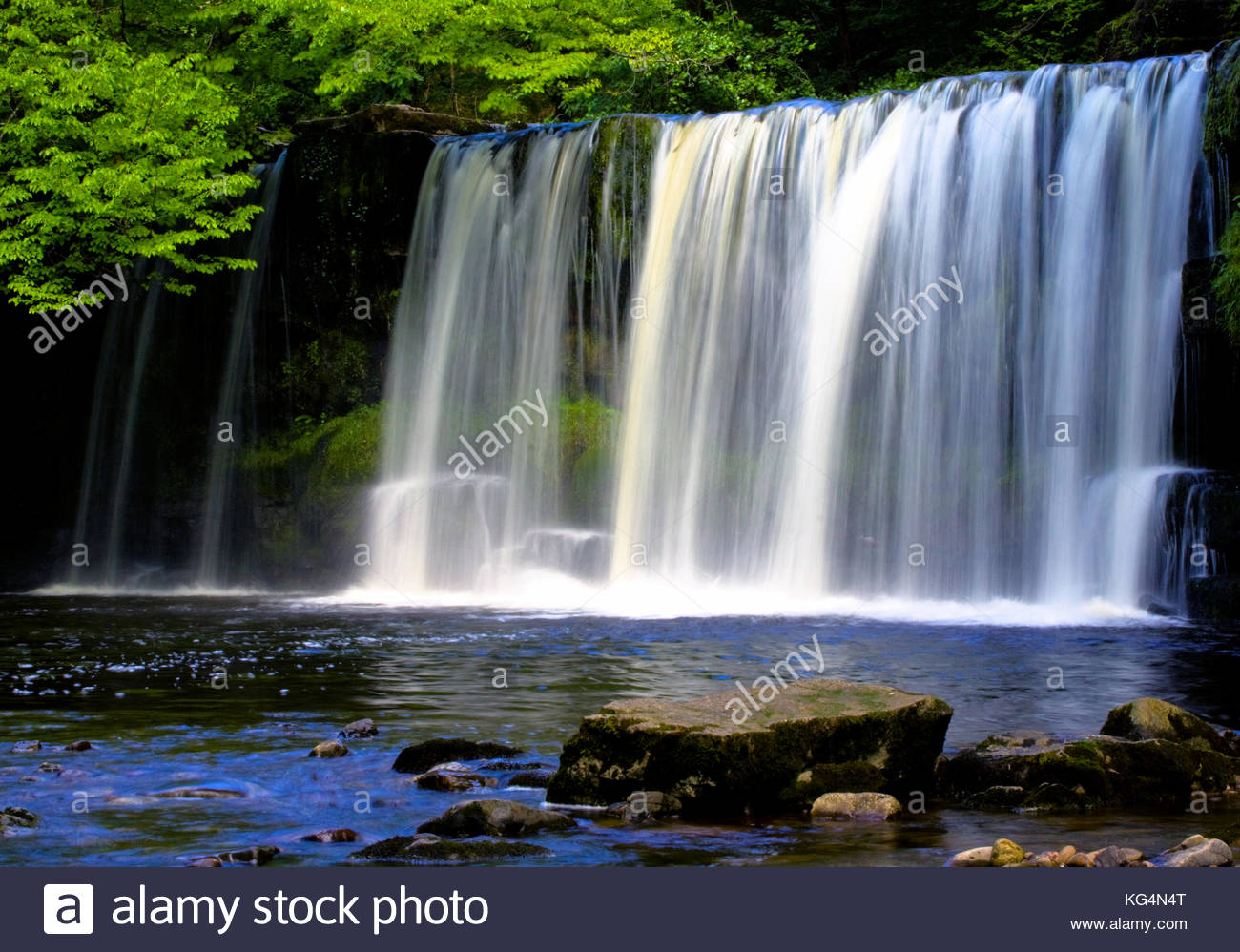 Waterfall Country Fforest Fawr & Black Mountain, Fforest Fawr Geopark Stock Photos & Fforest Fawr Geopark Stock ...