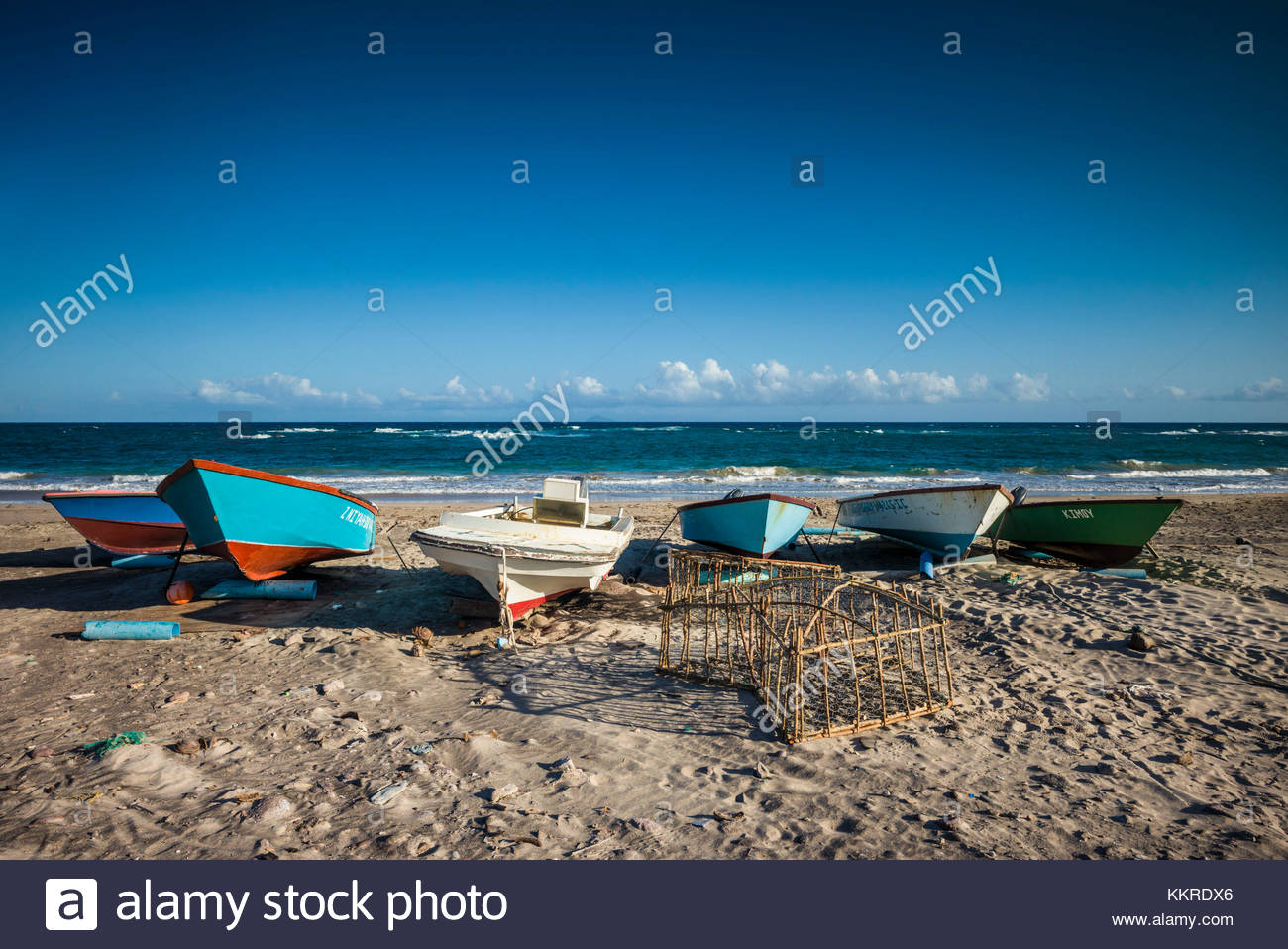 Windward Beach South Nevis, Island St Kitts Stock Photos & Island St Kitts Stock Images - Alamy