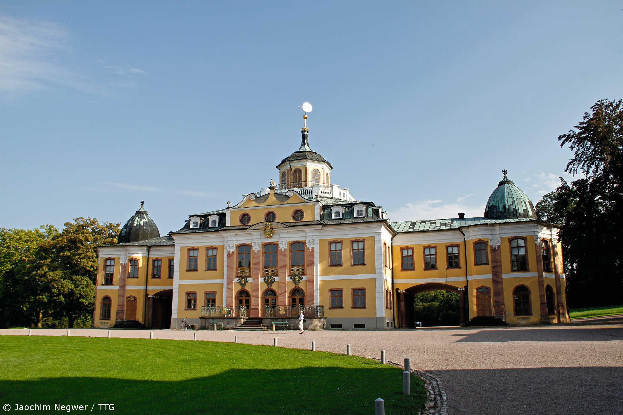 Wittumspalais Saxony, Saxony-Anhalt and Thuringia, Duchess Anna Amalia Library, Weimar, Germany; part of the UNESCO ...