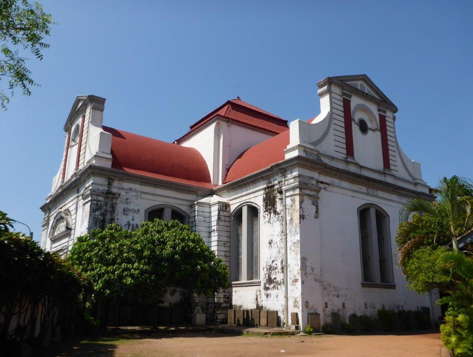 Wolvendaal Church Colombo, Poya day in Colombo – Life is a journey!