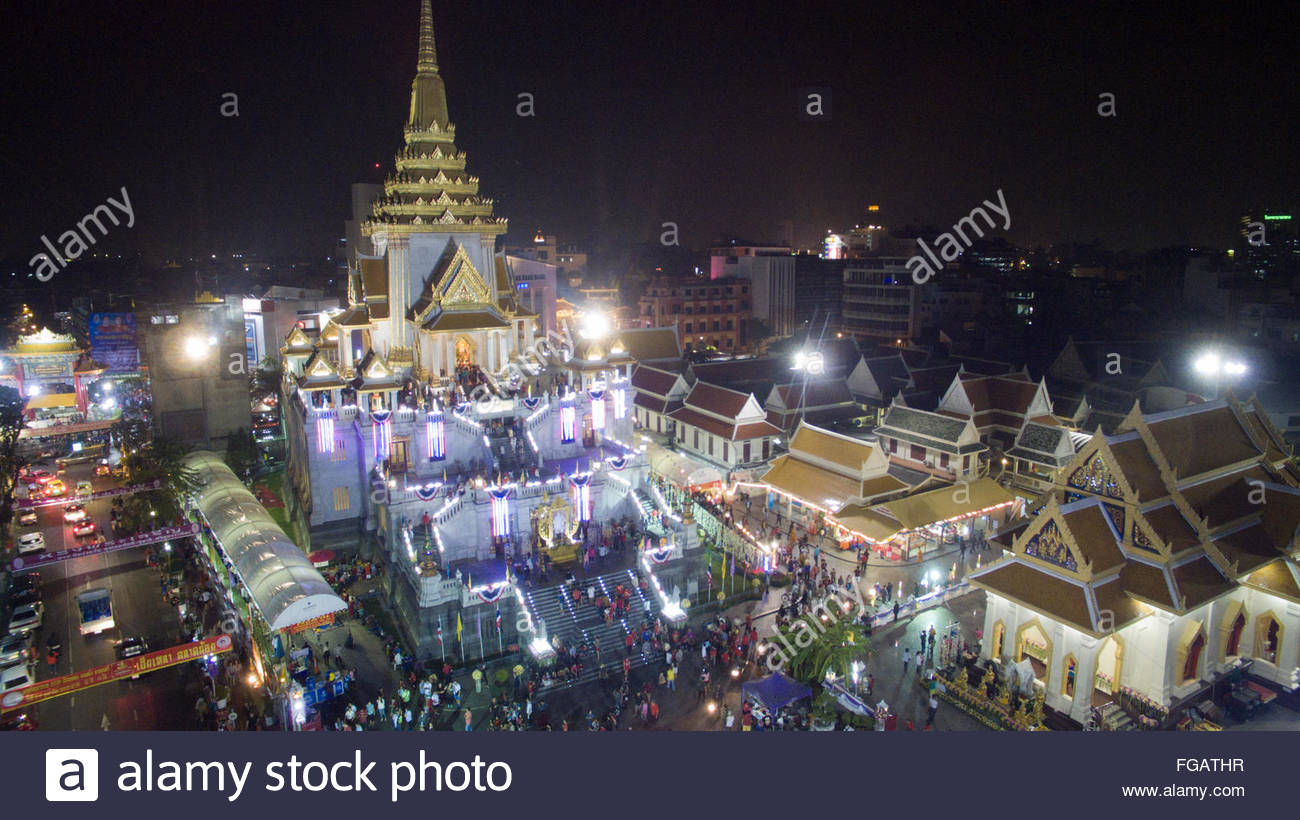 Yaowarat Chinatown Heritage Center Bangkok, A aerial view above the Yaowarat Chinatown Heritage Center and ...