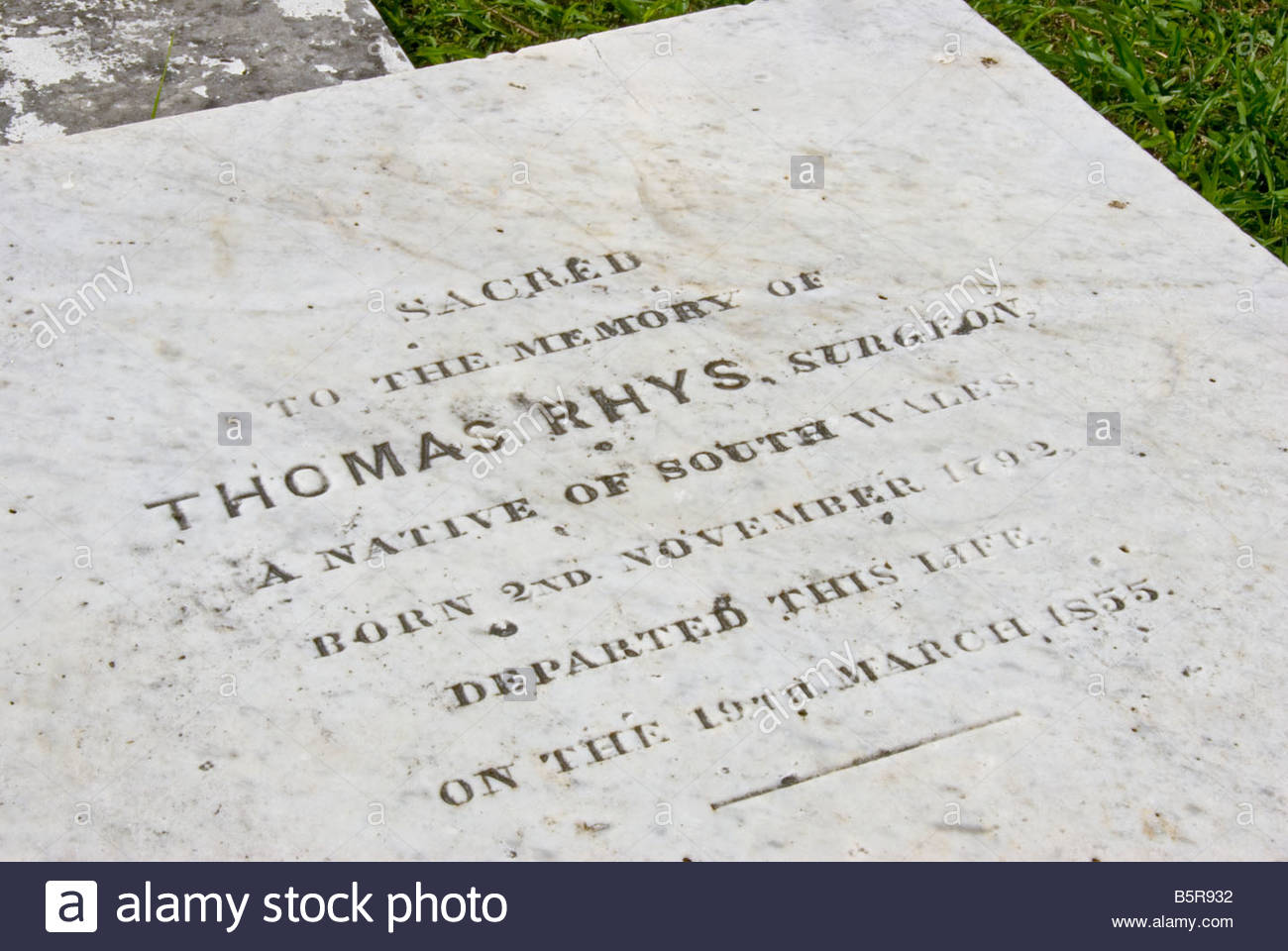 Yarborough Cemetery Belize City, headstone Yarborough Cemetery Belize City first public cemetery in ...