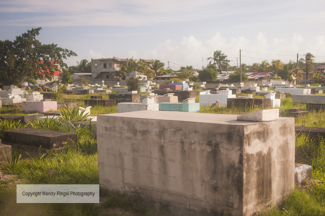Yarborough Cemetery Belize City, Wendy Ringel Photography | Belize City and Darknight Cave Tubing ...