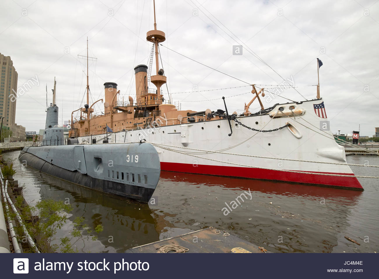 Bryn Mawr College Philadelphia, USS Becuna ss-319 and USS Olympia exhibits ar independence seaport ...