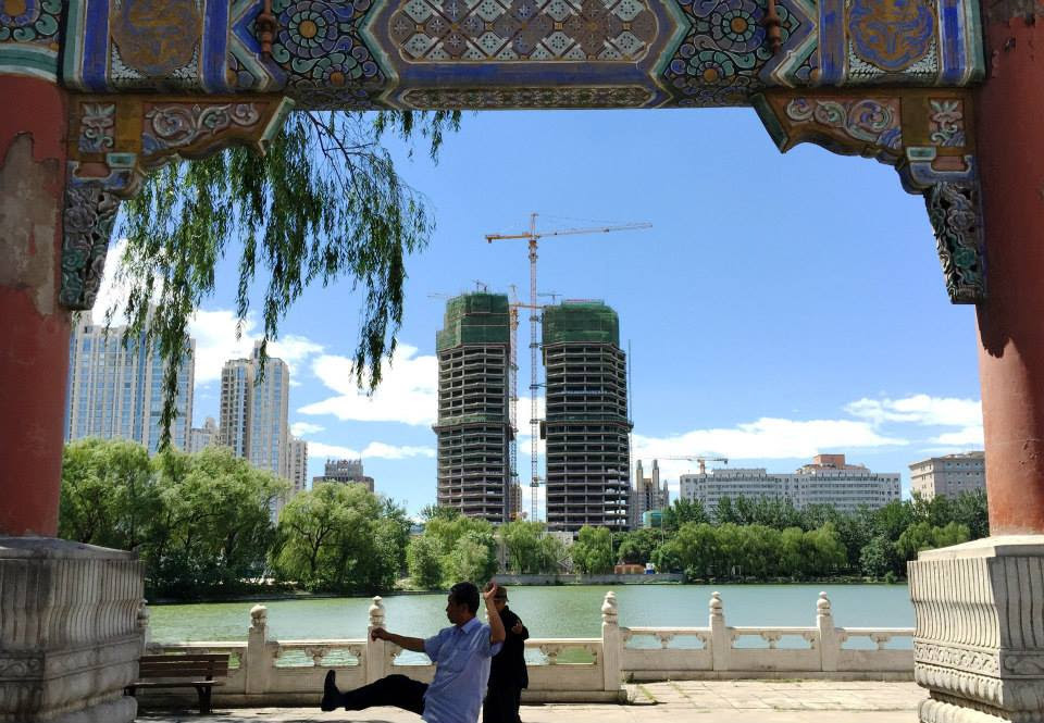 Yesanpo Beijing, MAD Tops Out on Beijing's Chaoyang Park Plaza   ArchDaily