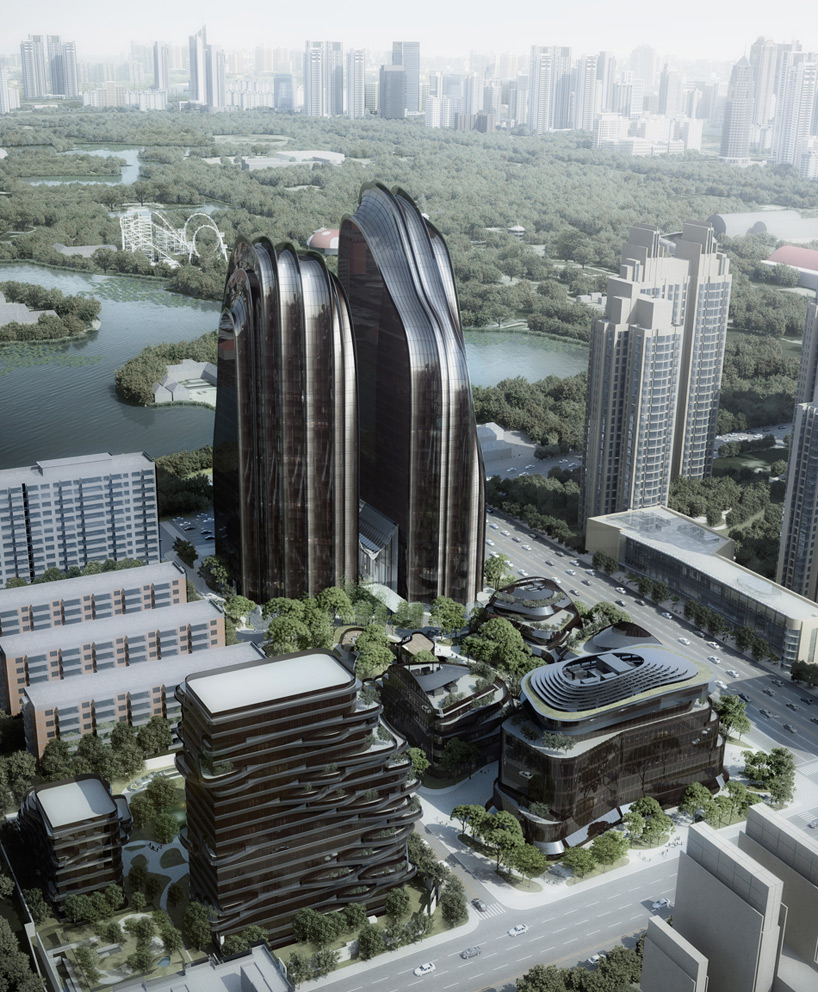 Yesanpo Beijing, park plaza by MAD architects breaks ground in beijing