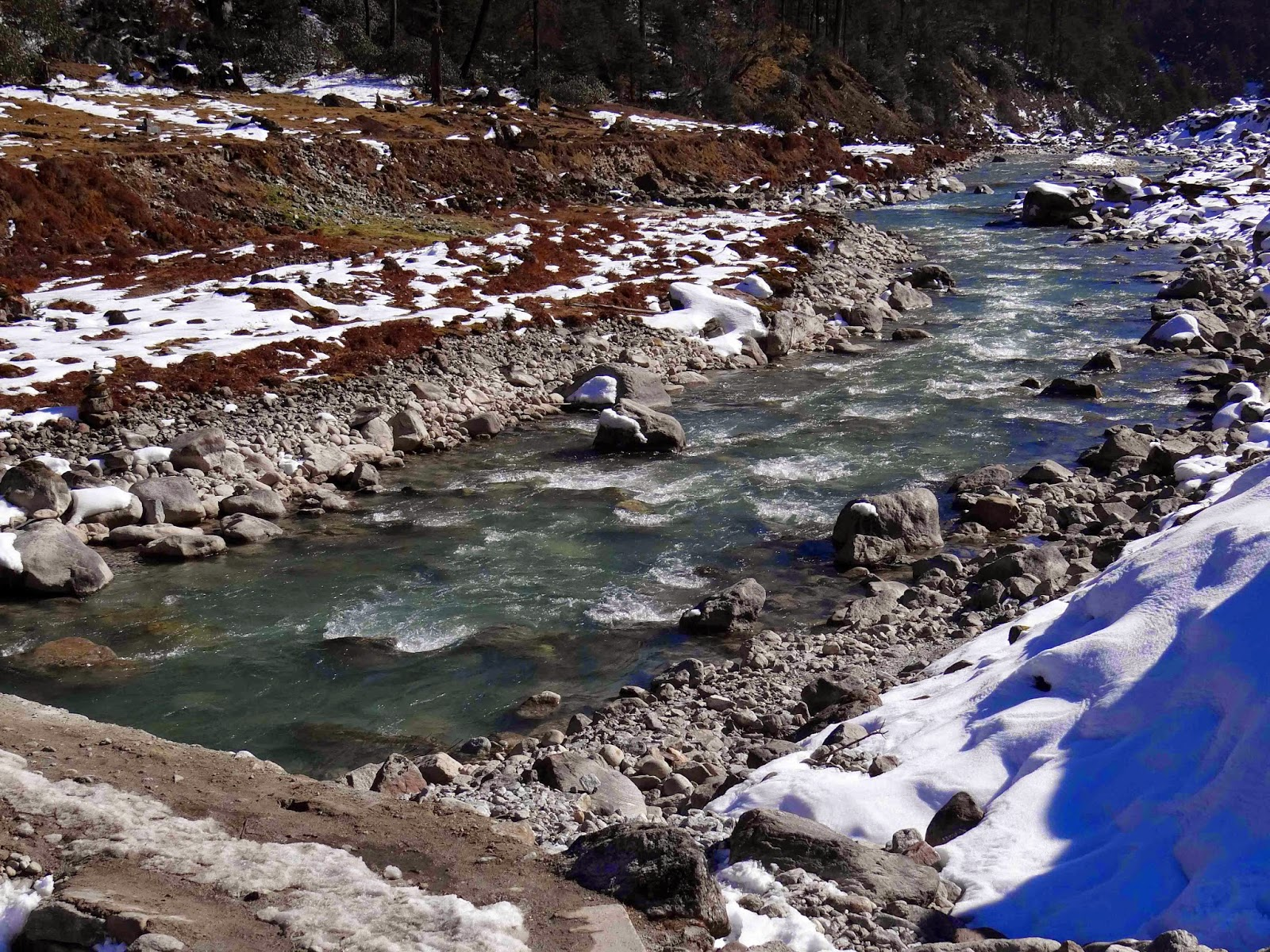 Yumthang Hot Springs Yumthang Valley, Travel Another India: Juggernaut of Happpiness - Sikkim Diaries