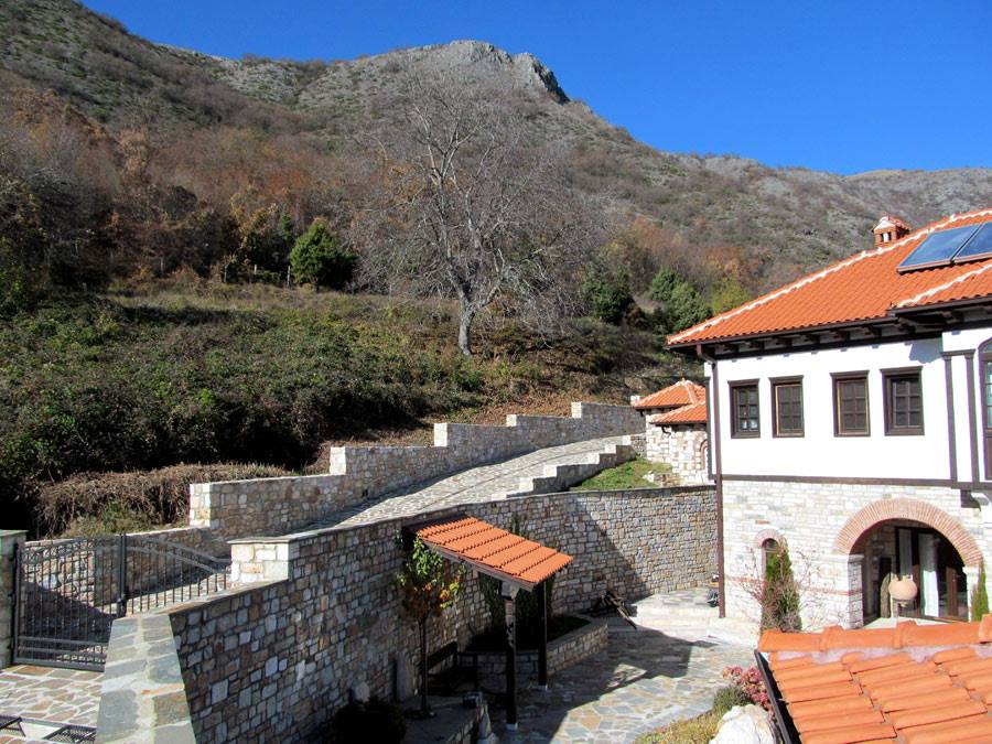 Zrze Monastery Eastern Europe, New Buildings Built in Traditional Architecture Style --- - Page ...