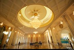 Ak Orda Astana | The interiors of the residence of the President of Kazakhstan ...
