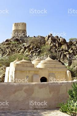 Al Badiyah Mosque UAE East Coast | Fujairah Uae Al Badiyah Mosque Oldest In Country stock photo ...