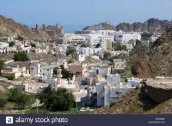 Al Mirani Fort Muscat | Sultanate of Oman Muscat Old Town Al Mirani fort and Al Jalali ...