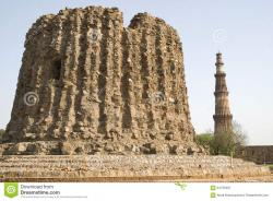 Alai Minar Delhi | Alai Minar In Delhi Stock Photo - Image: 64729491