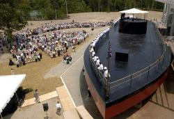 Allegany State Park Niagara Falls and Western New York | Full scale replica of the USS Monitor at the Mariners Museum and ...