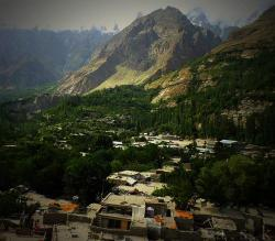 Altit Fort & Village Around Karimabad | Altit Fort — Hunza's silent prestige - Blogs - DAWN.COM