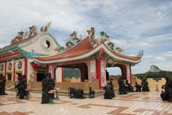 Anek Kusala Sala Pattaya | PATTAYA, THAILAND Exterior Of The Statues Of Chinese Shaolin ...