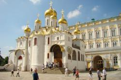 Annunciation Cathedral Moscow | Cathedral of the Annunciation, Moscow, Kremlin, 1484 | Russain ...