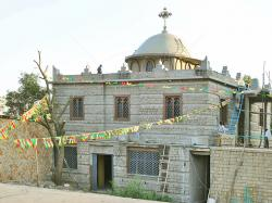 Ark of the Covenant Chapel Aksum | Chapel of the Tablet in Aksum Ethiopia - Interior and Exterior ...