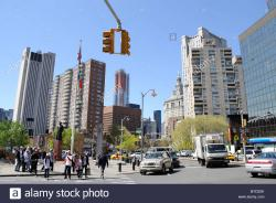 Atlantic Antic New York City   Chatham Square, also known as Kim Lau Square, in Chinatown, New ...
