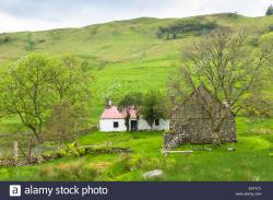 Laidhay Croft Museum The Northern Highlands and the Western Isles | Auchindrain Stock Photos & Auchindrain Stock Images - Alamy