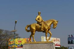 Aung San Statue Pyay   General Aung San Statue   glenn forbes   Flickr