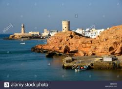 Ayjah Watchtowers Sur | Oman Watch Tower Stock Photos & Oman Watch Tower Stock Images - Alamy