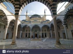 Azadi Mosque Ashgabat | Azadi Mosque, Ashgabat, Turkmenistan, Central Asia Stock Photo ...