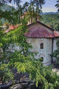 Bachkovo Monastery Bulgarian Thrace | Ancient Church In Medieval Bachkovo Monastery, Bulgaria Stock ...
