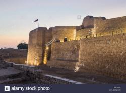 Bahrain Fort Arabian Peninsula | Bahrain Old Fort Stock Photos & Bahrain Old Fort Stock Images - Alamy